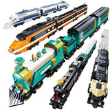 KAZI KY98223-98227 Electric Train - Your World of Building Blocks