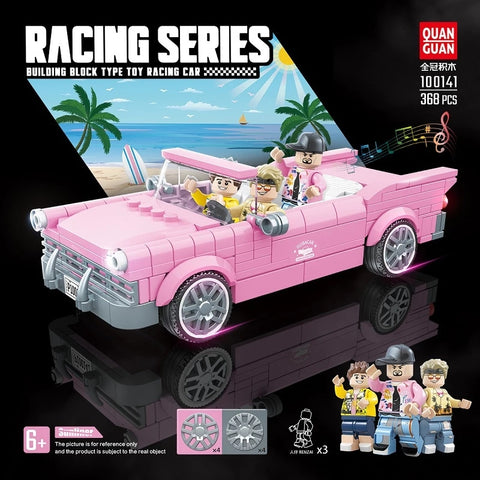 Quanguan 100141 Pink Super Racing Car
