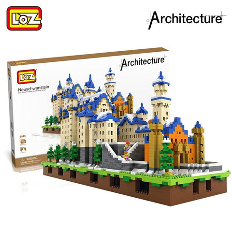 LOZ 9049 The Schloss Neuschwanstein Castle - Your World of Building Blocks