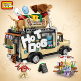 LOZ 1116 Hot Dog Fast Food Car - Your World of Building Blocks
