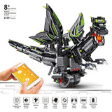 Mould King 13029 / 13031 The RC balance Dragon - Your World of Building Blocks