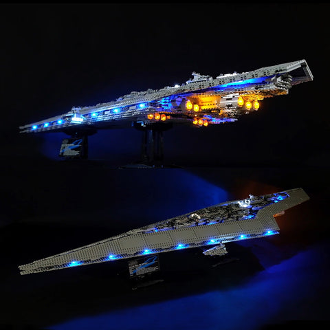 DIY LED Light Up Kit For Super Star Destroyer Lepin 05028 - Your World of Building Blocks