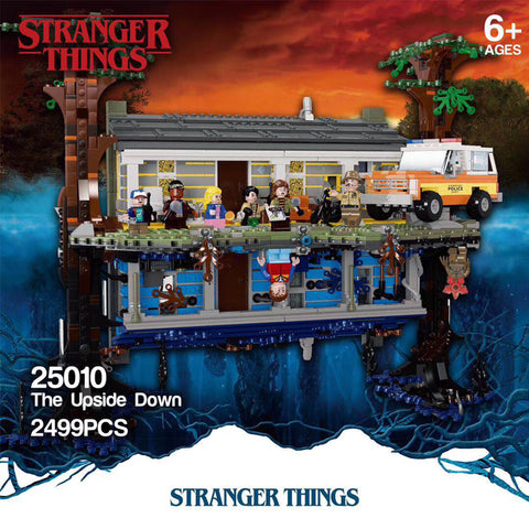 QIZHILE 25010 Newest Stanger Things The Upside Down