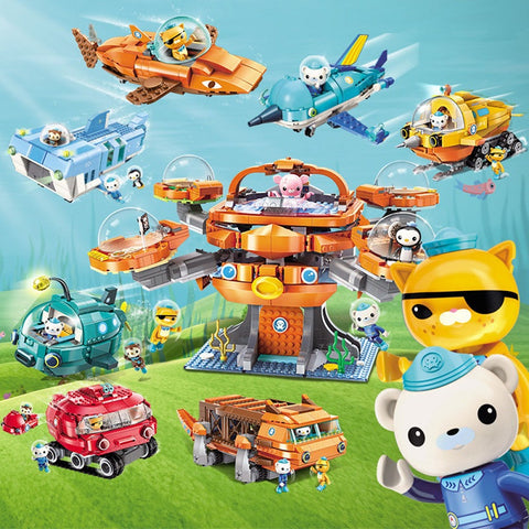 ENLIGHTEN 3701-3708 The Octonauts - Your World of Building Blocks