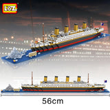 LOZ 9389 The Titanic cruise ship - Your World of Building Blocks