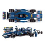 SLUBAN City Series M38-B0351 The F1 Racing Car Set Building Blocks Bricks Toys Model - Your World of Building Blocks