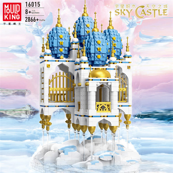 Mould King 16015 Sky Castle with LED lights - Your World of Building Blocks