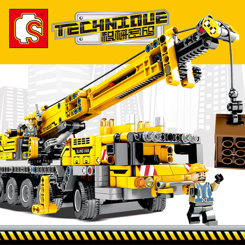 SEMBO 701800 Mobile Crane MK II - Your World of Building Blocks
