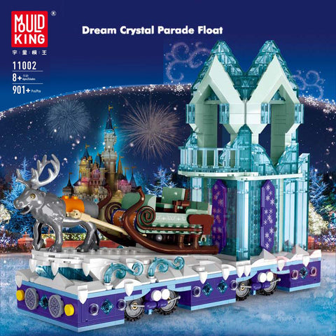 Mould King 11002 Dream Crystal Parade Float - Your World of Building Blocks