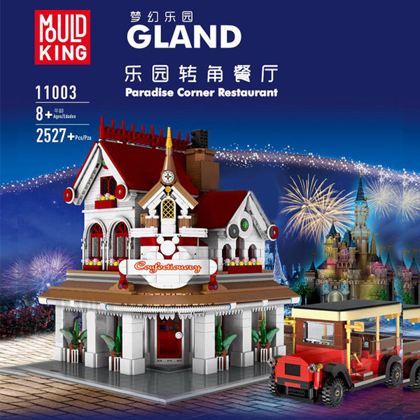 Mould King 11003 Paradise Corner Restaurant - Your World of Building Blocks