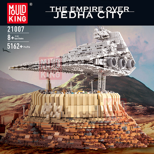 Mould King 21007 The Empire over Jedha City - Your World of Building Blocks