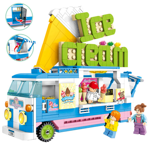 SEMBO 601300 / 601301 Hot dog and Ice cream Car - Your World of Building Blocks