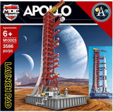 MOC BLOCKS M10003 Apollo Saturn V Launch Pad - Your World of Building Blocks