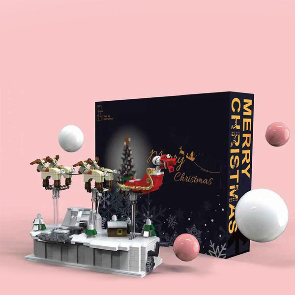 Gejia 49007 Christmas Eve Flying Santa Claus - Your World of Building Blocks