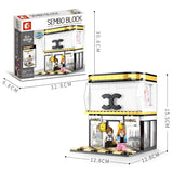 Sembo 601060 Luxury goods shop - Your World of Building Blocks