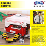 XINGBAO Dream Car Series XB-08003 The Camper Set Building Blocks Bricks Toys Model - Your World of Building Blocks