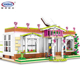 XINGBAO Girls Series XB-12003 The Rainbow Library Set Building Blocks Bricks Toys Model - Your World of Building Blocks
