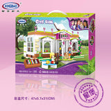 XINGBAO XB-12003 The Rainbow Library - Your World of Building Blocks