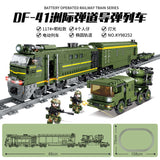 KAZI 98252 DF-41 Intercontinental Missile Train with light and sound