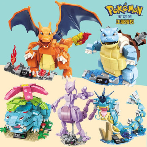 ENLIGHTEN B0107-B0111 Pokemon - Your World of Building Blocks