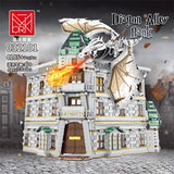 Mork 032101 Gringotts Bank & Ukranian Ironbelly Dragon - Diagon Alley