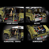 Mould King 13175 1:8 Lands Rovers Defender - Your World of Building Blocks