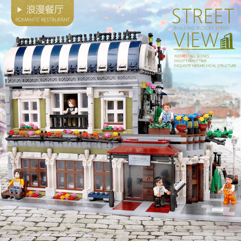 ZHEGAO QL0920 Romantic Restaurant - Your World of Building Blocks