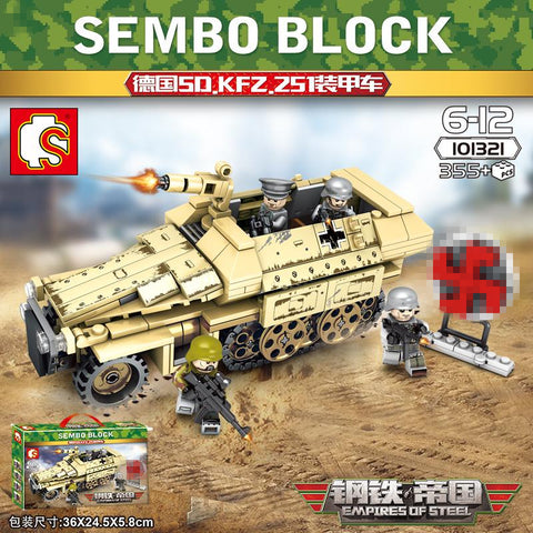 SEMBO 101321 Germany SD.251 Tracked Armored Car