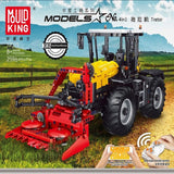Mould King 17019 RC Tractor Fastrac 4000er series