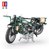 CADA C51022 Military Motorcycle - Your World of Building Blocks