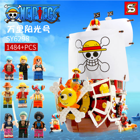 SY 6298 One Pieces Thousand Sunny Ship - Your World of Building Blocks