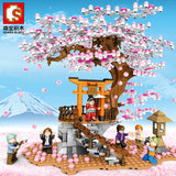 Sembo 601076 Half hill Sakura - Your World of Building Blocks