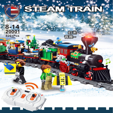 RAEL 20001 Steam Train with lights sounds and steam parts