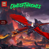 18K K89 / K90 Game of Thrones Dragons - Your World of Building Blocks