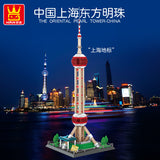 WANGE 5224 Shanghai Oriental Pearl TV Tower - Your World of Building Blocks