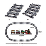 RAEL 20001 Steam Train with lights sounds and steam parts - Your World of Building Blocks