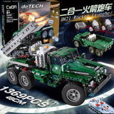 CADA C61002 Rocket Launcher Truck 2 Models in 1 - Your World of Building Blocks