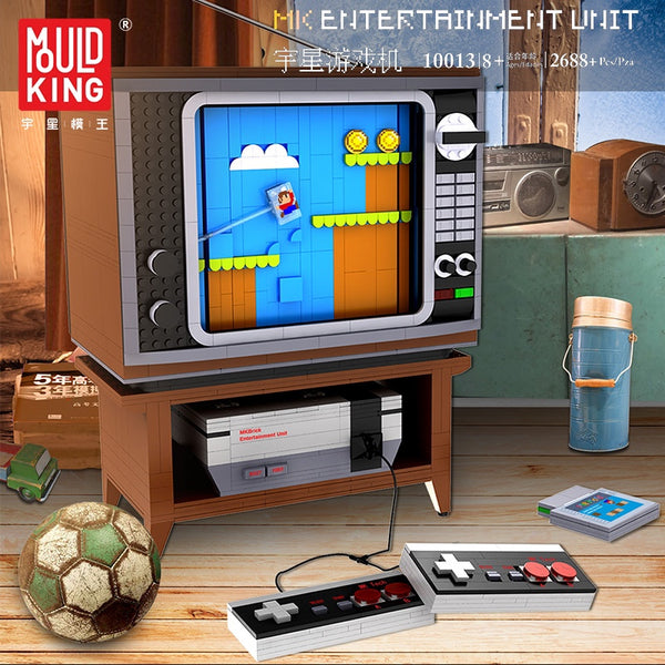 Mould King 10013 MK ENTERTAINMENT UNIT