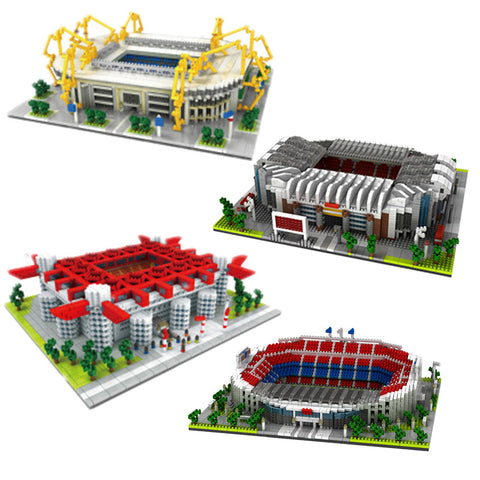 PZX 9912-1~4 Football Stadium - Your World of Building Blocks
