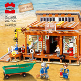 PANGU PG-12004 Shipyard - Your World of Building Blocks