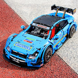 Mould King 13073 RC 1:8 C63 DTM with LED light kits - Your World of Building Blocks