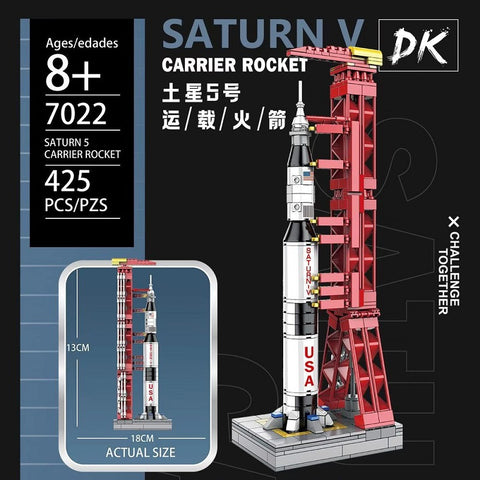 DK 7022 Mini Apollo Launch Pad and Rocket