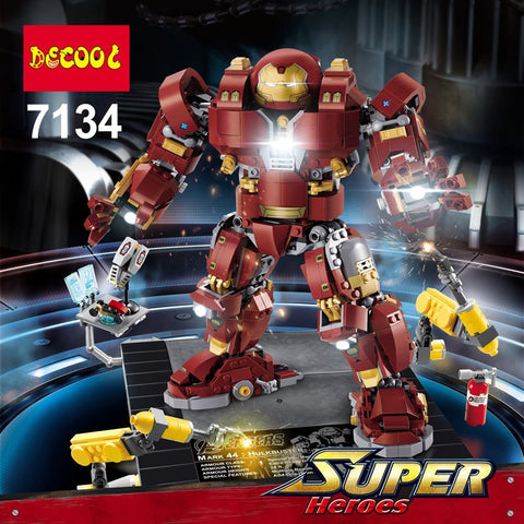 DECOOL 7134 Iron Man Hulkbuster Ultron Edition - Your World of Building Blocks