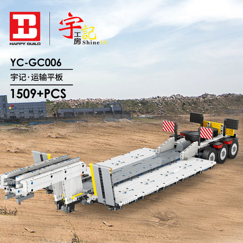 XINYU YC-GC 006 Step Deck Trailer