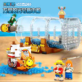 SY 6294 One Piece the Ship Boat in the bottle - Your World of Building Blocks