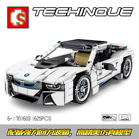 SEMBO 701603 BMW I8 - Your World of Building Blocks