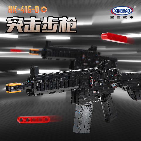XINGBAO XB-24003 HK-416-D Assault Rifle - Your World of Building Blocks