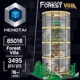 HENGTAI 85016 Forest Villa with Lights