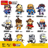 DECOOL 6847-6858 Overwatch Fighers - Your World of Building Blocks