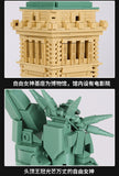 WANGE 5227 The Statue of Liberty - Your World of Building Blocks